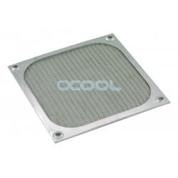 Air filter 120x120mm silver