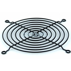 Fan grid 120x120mm black