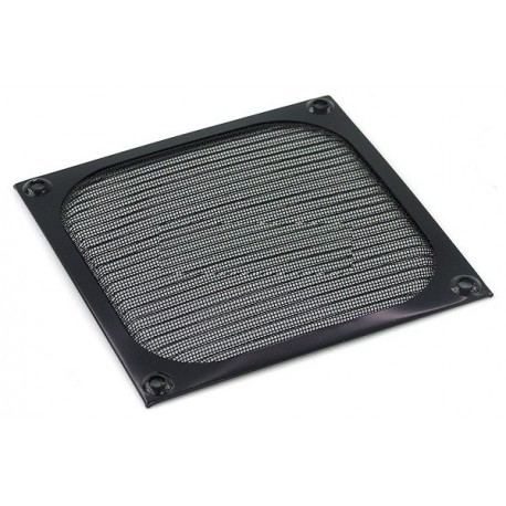 Air filter 120x120mm black