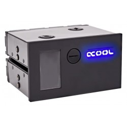 Alphacool Eisfach - Single Laing DDC - Dual 5,25 Bay Station incl. 1x Alphacool Laing DDC310 - argent