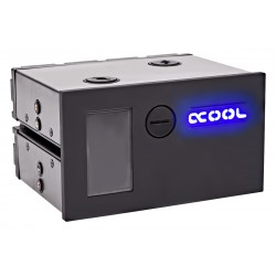 Alphacool Eisfach - Single Laing DDC - Dual 5,25 Bay Station incl. 1x Alphacool Laing DDC310 - black