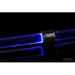 Alphacool Aurora HardTube LED ring 16mm deep black - blue