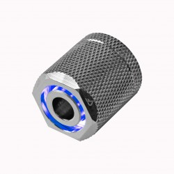 Nanoxia CoolForce LED Fitting 16/13 - Blue - Nickel